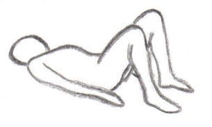 yoga breathing exercise lying down