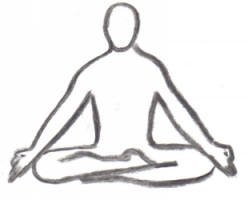 yoga for relaxation and meditation - lotus position